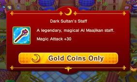 Dark Sultan's Staff