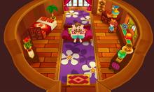 Inside Alejandro's Beach Hut