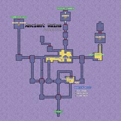 Sepiolith's Ancient Ruins Map Diagram