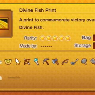 Godfish/Divine Fish Print