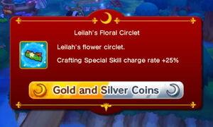 Leilah's Floral Circlet