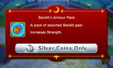 Bandit's Armour Pack