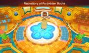 Repository of forbidden books