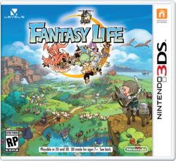 3DS FantasyLife package