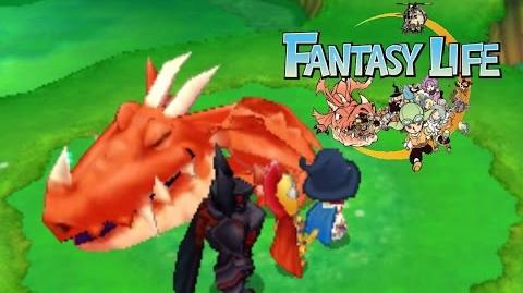 Fantasy Life - Nap Dragon Boss Fight - Magnificus Odin - Magician