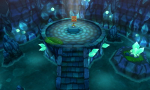 Cave of the Talking Sword Inside