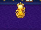 Golden Goddess Statue