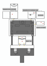 Mapa castillo planta primera