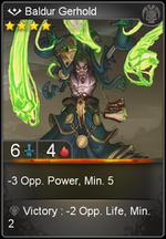 Baldur Gerhold card level 4
