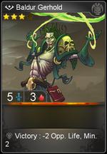 Baldur Gerhold card level 3