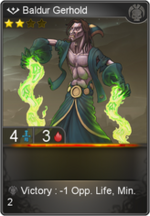 Baldur Gerhold card level 2