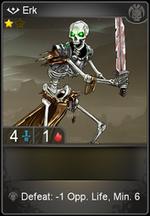 Erk card level 1