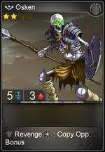 Osken card level 2
