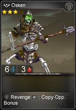 Osken card level 3