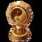 Bronze Yin Yang Trophy