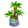 Potted Palms