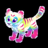 Tye-Dye Tiger Juvenile