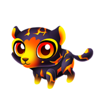 Lava Leopard Baby