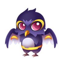 Eerie Owl Baby