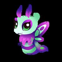 Lunar Moth Baby