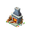 Decorated Chimney