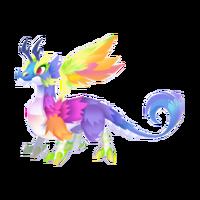 Rainbow Dragon Adult