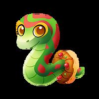Fruitcake Snake Baby