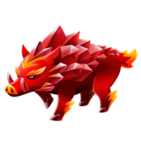 Ruby Razorback Adult