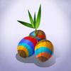 Colorful Coconuts