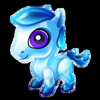 Aquamarine Pony Baby