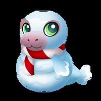 Snowmanatee Baby