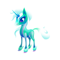 Crystal Unicorn Juvenile