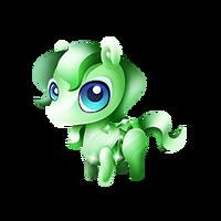 Emerald Pony Baby