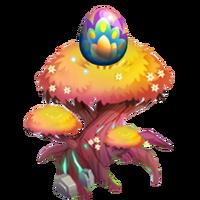 Petal Peacock Egg