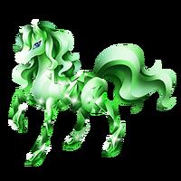 Emerald Pony Adult