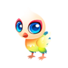Petal Peacock Baby