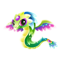 Quartz Quetzalcoatl Baby