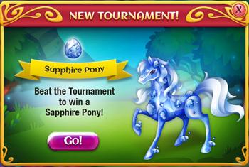 Arena SapphirePony popup