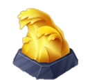 Gold Fish Out of Water Trophy