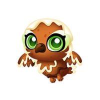 Gingerbread Owl Baby