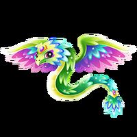 Quartz Quetzalcoatl Juvenile