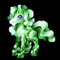 Emerald Pony Juvenile