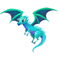 Emerald Dragon Juvenile