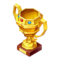 Gold Faelily Trophy