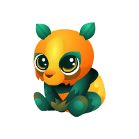 Pumpkin Panda Baby