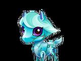 Turquoise Pony