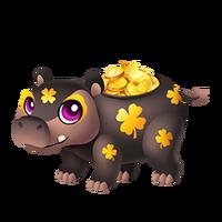 Hippopot-a-Gold Juvenile
