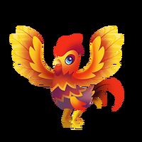 Rubble Rooster Juvenile