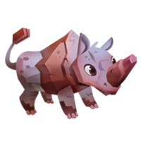Rock Rhino Juvenile