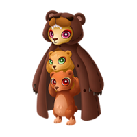 Brawny Bear Adult